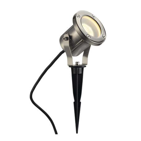 Прожектор SLV NAUTILUS 10 SPIKE 229740, IP55, 1xGU10x25W, сталь