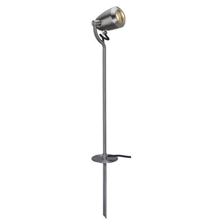 Прожектор с колышком SLV CV SPOT 231682, IP65, 1xGU10x4W, сталь