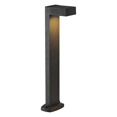 Садово-парковый светильник SLV QUADRASYL SL 75 232295, IP44, 1xGX53x11W, серый, металл
