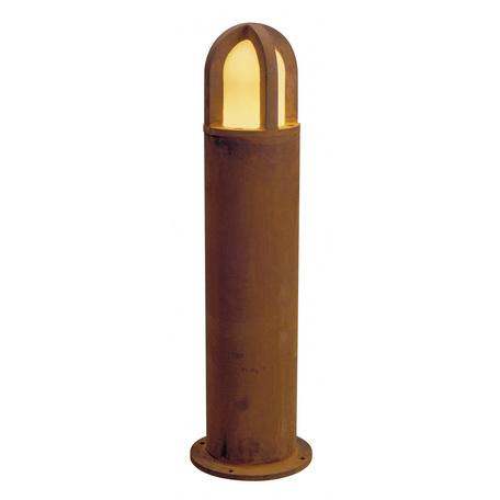 Садово-парковый светильник SLV RUSTY® CONE 70 229432, IP54, 1xE27x11W, коричневый, металл
