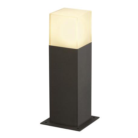 Садово-парковый светильник SLV GRAFIT 30 POLE 231215, IP44, 1xE27x11W, серый, белый