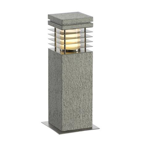 Садово-парковый светильник SLV ARROCK GRANITE 231410, IP44, 1xE27x15W, серый, прозрачный