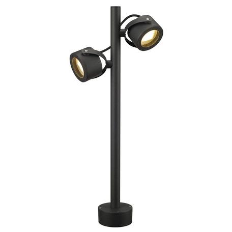 Садово-парковый светильник SLV SITRA 360 POLE 231505, IP44, 1xGX53x9W, серый