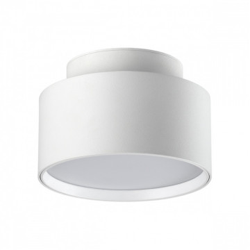 Потолочный светодиодный светильник Novotech Oro 358355, LED 24W 4000K 1920lm, белый, металл, металл с пластиком