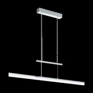 Подвесной светодиодный светильник Eglo Tarandell 96866, LED 25W 3000K 3000lm, хром, металл, металл с пластиком, пластик