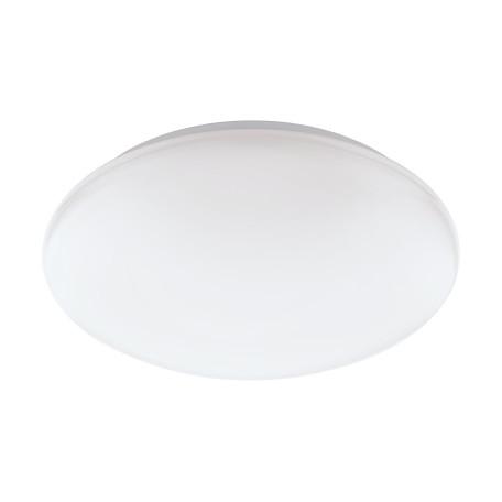 Потолочный светодиодный светильник с пультом ДУ Eglo Connect Giron-C 32589, LED 17W 2700-6500K + RGB 2100lm CRI>80, белый, металл, пластик
