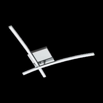 Потолочный светодиодный светильник Eglo Nevado 96304, 3000K (теплый), хром, белый, металл, пластик
