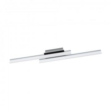 Потолочный светодиодный светильник Eglo Lapela 96409, LED 20W 3000K 2600lm, хром, металл, металл с пластиком, пластик