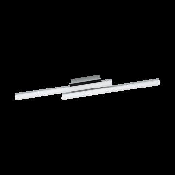 Потолочный светодиодный светильник Eglo Lapela 96409, хром, белый, металл, пластик