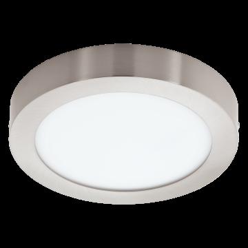 Потолочный светодиодный светильник с пультом ДУ Eglo Fueva-C 96677, белый, никель, металл, пластик