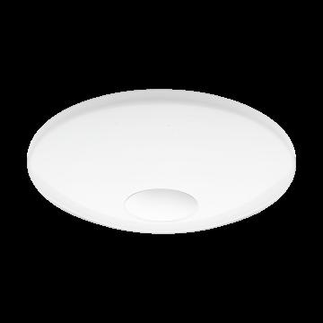 Потолочный светодиодный светильник с пультом ДУ Eglo Voltago-C 96684, белый, металл, пластик