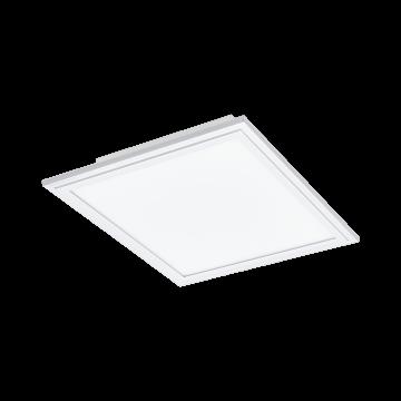 Светодиодная панель для встраиваемого или накладного монтажа с пультом ДУ Eglo Salobrena-C 96662, LED 16W, белый, металл, пластик