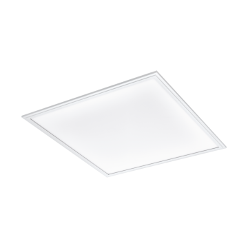 Светодиодная панель для встраиваемого или накладного монтажа с пультом ДУ Eglo Salobrena-C 96663, LED 34W, белый, металл, пластик