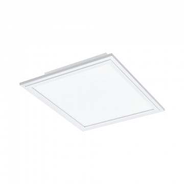 Светодиодная панель для встраиваемого или накладного монтажа с пультом ДУ Eglo Connect Salobrena-C 96662, LED 16W 2700-6500K + RGB 2000lm CRI>80, белый, металл с пластиком, пластик
