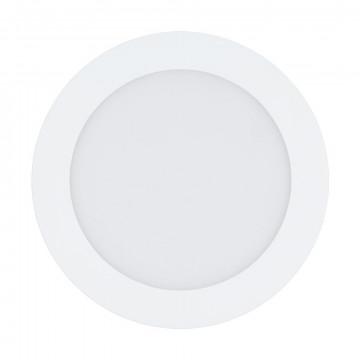 Светодиодная панель с пультом ДУ Eglo Connect Fueva-C 32738, LED 10,5W 2700-6500K + RGB 1200lm CRI>80, белый, металл с пластиком, пластик