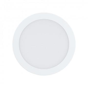 Светодиодная панель с пультом ДУ Eglo Connect Fueva-C 96668, LED 15,6W 2700-6500K + RGB 2000lm, белый, металл с пластиком, пластик