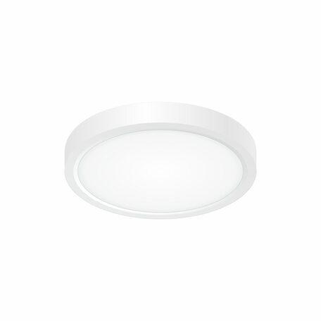 Потолочный светодиодный светильник Citilux Бейсик CL738120N, IP40, LED 12W 4000K 1400lm, белый, пластик