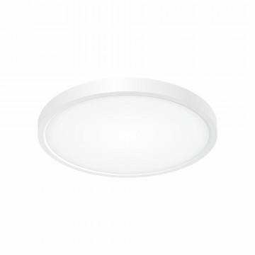 Потолочный светодиодный светильник Citilux Бейсик CL738240V, IP40, LED 24W 2900lm, белый, пластик
