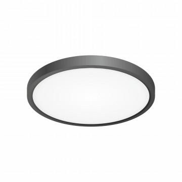 Потолочный светодиодный светильник Citilux Бейсик CL738241V, IP40, LED 24W 2900lm, черный, пластик