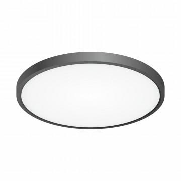 Потолочный светодиодный светильник Citilux Бейсик CL738321V, IP40, LED 32W 3800lm, черный, пластик
