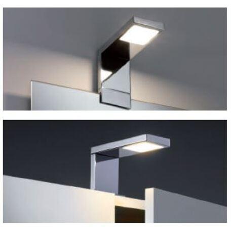 Мебельный светодиодный светильник Paulmann Galeria Frame 99079, IP44, LED 4,2W, хром, металл