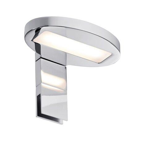 Мебельный светодиодный светильник Paulmann Galeria Oval 99088, IP44, LED 3,2W, хром, металл