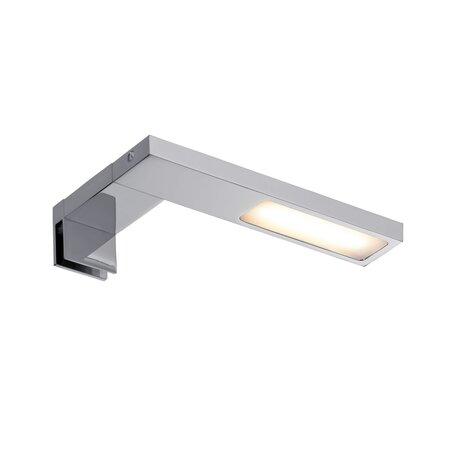 Мебельный светодиодный светильник Paulmann Galeria Hook 99089, IP44, LED 3,2W, хром, металл