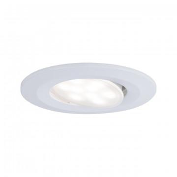 Встраиваемый светодиодный светильник Paulmann Calla 99926, IP65, LED 6W, белый, пластик