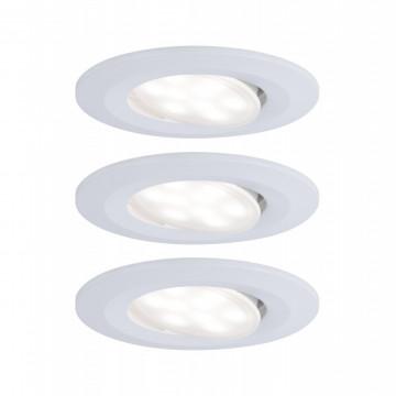 Встраиваемый светодиодный светильник Paulmann Calla 99927, IP65, LED 6W, белый, пластик