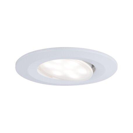 Встраиваемый светодиодный светильник Paulmann Calla 99930, IP65, LED 6,5W, белый, пластик