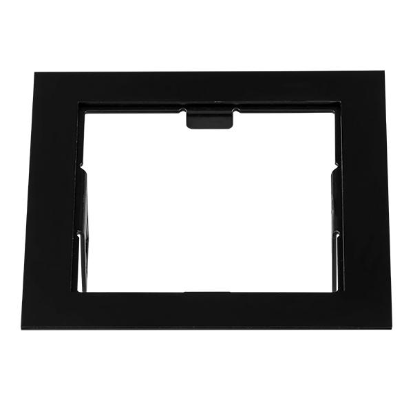 Декоративная рамка Lightstar Domino 214517, черный, металл - фото 1