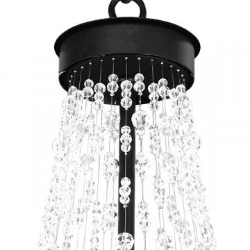 Подвесная люстра Lightstar Castello 744088, 8xE14x40W, черный, прозрачный, металл, ковка, хрусталь - миниатюра 5