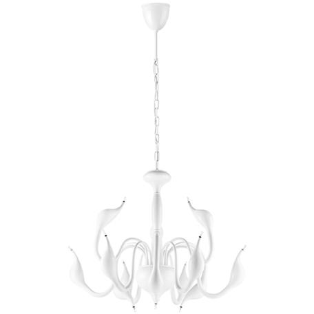 Подвесная люстра Lightstar Cigno Collo 751126, 12xG4x20W, белый, металл