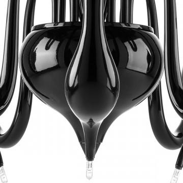Подвесная люстра Lightstar Cigno Collo 751127, 12xG4x20W, черный, металл - миниатюра 5