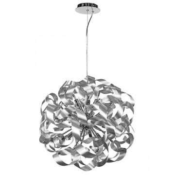 Подвесная люстра Lightstar Turbio 754129, 12xG9x40W, алюминий, металл