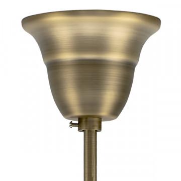 Подвесная люстра Lightstar Osgona Stregaro 694061, 6xE14x60W, бронза, прозрачный, металл с хрусталем, хрусталь - миниатюра 2