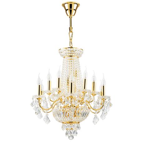 Подвесная люстра Lightstar Osgona Classic 700162, 16xE14x60W, золото, прозрачный, хрусталь