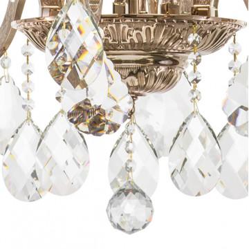 Подвесная люстра Lightstar Osgona Artifici 719108, 10xE14x60W, медь, прозрачный, металл с хрусталем, хрусталь - миниатюра 5