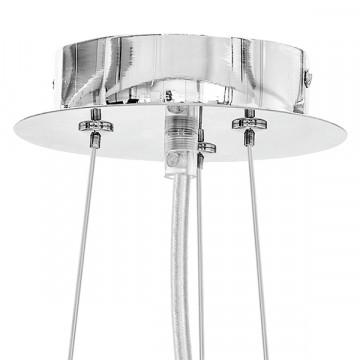 Подвесной светильник Lightstar Onda 741064, 6xG9x40W, хром, прозрачный, металл, хрусталь - миниатюра 3