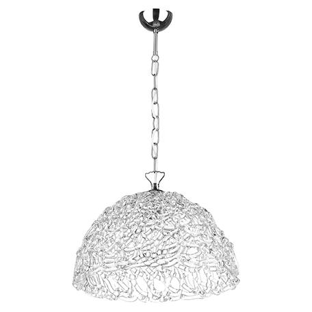 Подвесной светильник Lightstar Murano 603110, 1xE27x40W, хром, белый, металл, стекло