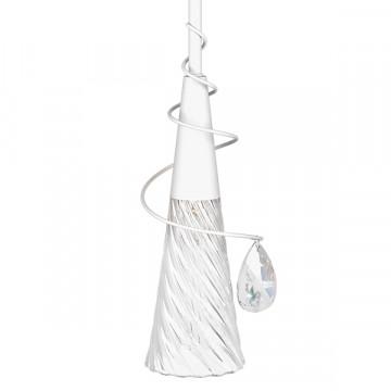 Подвесной светильник Lightstar Aereo 711010, 1xG9x25W, белый, прозрачный, металл, стекло, хрусталь - миниатюра 4