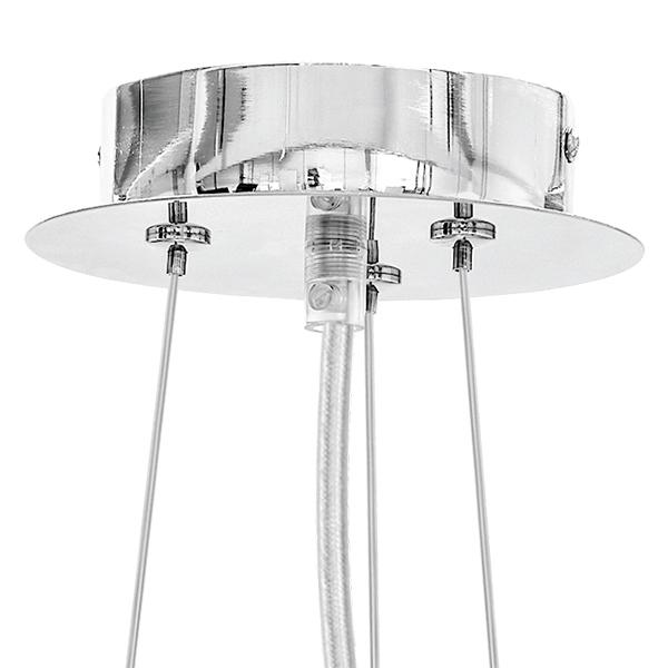 Подвесной светильник Lightstar Onda 741064, 6xG9x40W, хром, прозрачный, металл, хрусталь - фото 2