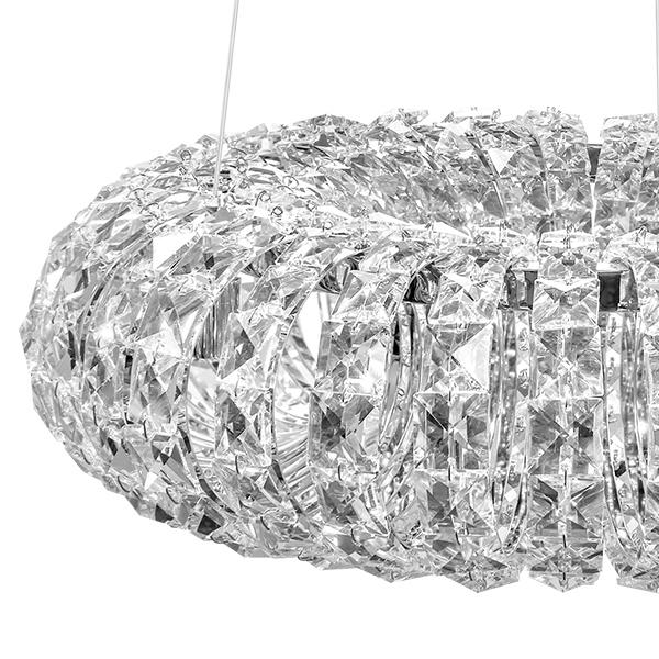 Подвесной светильник Lightstar Onda 741064, 6xG9x40W, хром, прозрачный, металл, хрусталь - фото 3
