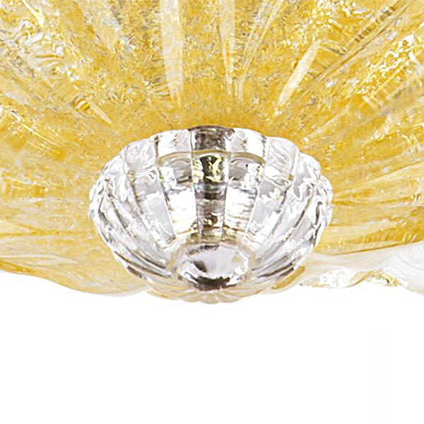 Потолочная люстра Lightstar Murano 601033, 3xE14x40W, хром, янтарь, металл, стекло - фото 3