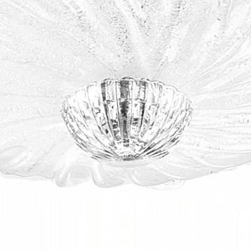 Потолочная люстра Lightstar Murano 601050, 5xE14x40W, хром, белый, металл, стекло - миниатюра 4