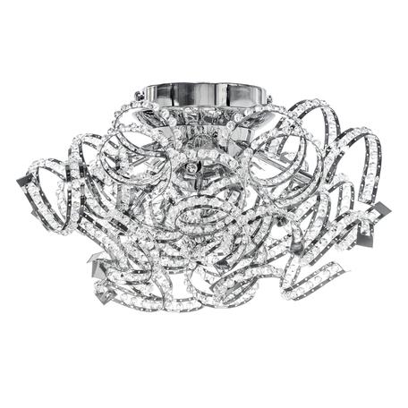 Потолочная люстра Lightstar Spider 742094, 9xG9x40W, хром, прозрачный, металл, хрусталь