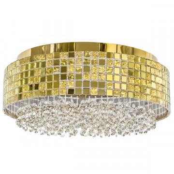 Потолочная люстра Lightstar Bezazz 743062, 6xG9x40W, золото, прозрачный, металл, пластик, стекло