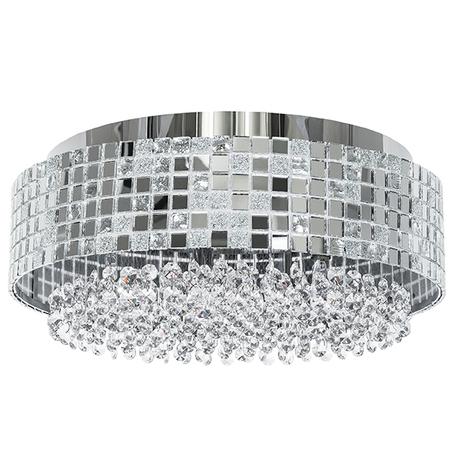 Потолочная люстра Lightstar Bezazz 743064, 6xG9x40W, хром, прозрачный, металл, пластик, стекло