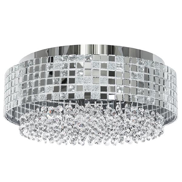 Потолочная люстра Lightstar Bezazz 743064, 6xG9x40W, хром, прозрачный, металл, пластик, стекло - фото 1
