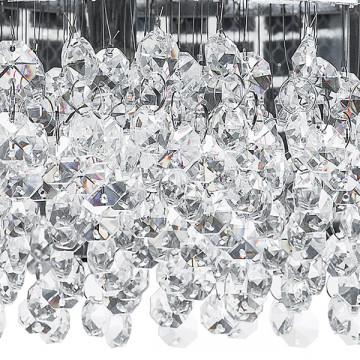 Потолочная люстра Lightstar Bezazz 743064, 6xG9x40W, хром, прозрачный, металл, пластик, стекло - миниатюра 2